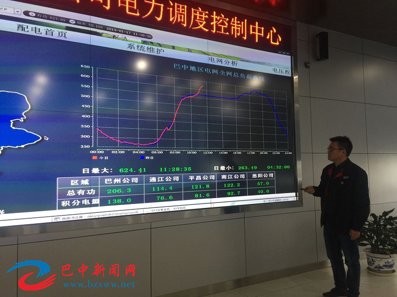 """220kV盘兴站正式投运 """"迎峰度冬""""巴中电力再发力"""