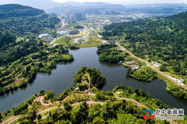 巴中经开区:打造生态宜居公园城市 建设康养休闲观光目的地