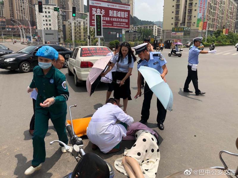 为合力救治伤者 巴中交警启动交通事故医疗救援预案